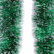Christmas green tinsel. — Stock Photo #40777395