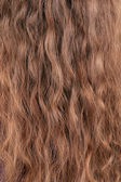 Texture of long blond hair. — Stock Photo