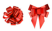 Two big red bows. — Stock Photo