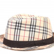 Checked hat. — Stock Photo #41574937