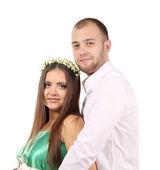 Happy young couple. — Foto de Stock