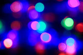 Multicolor bokeh background — Stock Photo