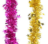 Christmas tinsel — Stock Photo