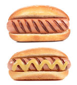 Two big Hotdogs — Stock Photo