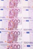 Eurobankbiljetten — Stockfoto