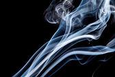 Fluxo de fumo branco — Fotografia Stock