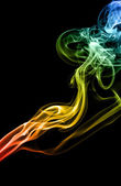 Mistery beautiful smoke — Stock Photo