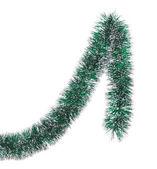 Christmas green tinsel — Zdjęcie stockowe