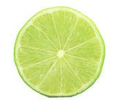 Fresh slice of lime — Stock Photo