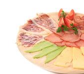 Et ve peynir — Stok fotoğraf