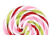 Lovely lollipop with red pinck green — ストック写真
