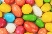 Peanuts dragee in colorful cover — Stock Photo