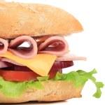 Постер, плакат: Baguette sandwich