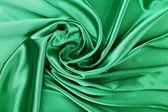 Fondo de seda verde — Foto de Stock