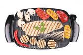 Sebzeli ızgara balık filetosu. — Stok fotoğraf