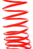 Red air hose. — Stock Photo