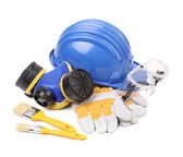 Working equipment for builders. — Stock Photo
