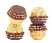 Zoete chocolade snoepjes. — Stockfoto