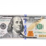 New one hundred dollar bill. — Stock Photo #44861075