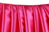 Pink silk drape. — Stock Photo
