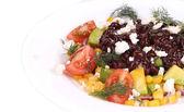 Beans salad. — Stock Photo