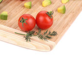 Assorted vegetables and fruits. — Stock Photo