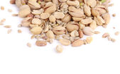 Close up of fresh pistachios. — Stock Photo