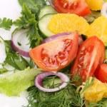 Close up of fresh salad. — Stock Photo #46348265