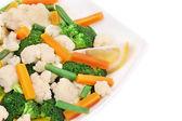 Close up of cauliflower salad. — Stock Photo