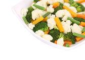 Broccoli and cauliflower salad. — Stock Photo