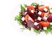 Close up of beet salad. — Stock Photo