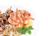 Shrimp Salad. — Stock Photo