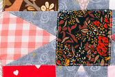 Closeup of quilt pattern. — Stock Photo