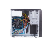 Open PC computer case. — Stock Photo