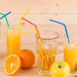 Fruits and juice — Stock Photo #49064889