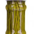 Marinated green asparagus. — Stock Photo #49066829