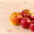 Ripe red apples. — Stock Photo #49067311