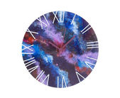 Art clock with dial space. — Stock Photo