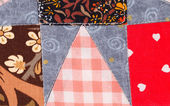 Handmade blanket. — Stock Photo