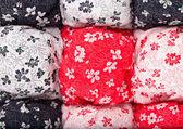 Handmade blanket — Stock Photo
