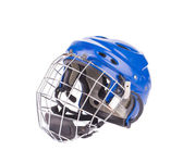 Hockey goalie mask. — Stock Photo