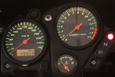 Motorcycle dashboard. — Stock Photo