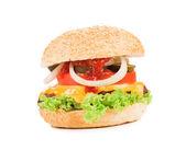 Smakelijke hamburger. — Stockfoto
