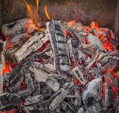 Открытый огонь. — Стоковое фото