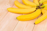Banana round shape — Stock Photo