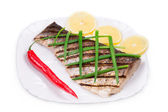 Grilled carp — Stock Photo