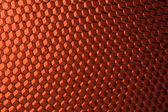 Favo texture astratta arancione — Foto Stock