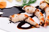 Tasty shrimps  — Stock Photo