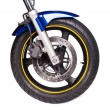 Motorcycle wheel — Stock Photo #49698541