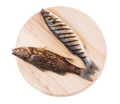 Grilled fishes — Stock Photo